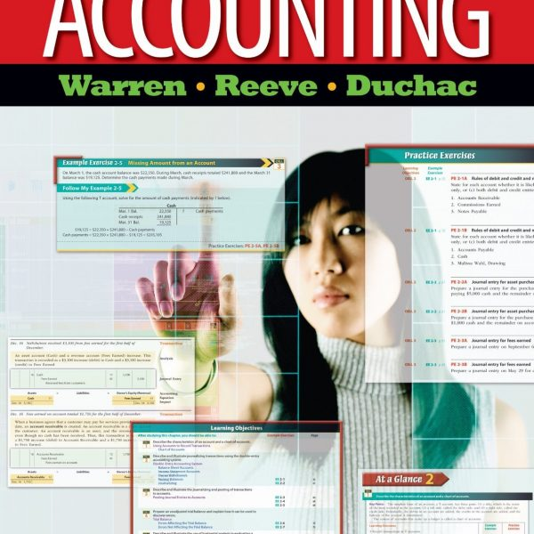 Accounting 24th Edition By Warren, Reeve, Duchac – Test Bank